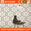 Papel pintado blanco que hace espuma del papel decorativo