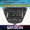 ヒュンダイElantra Head Unit Car DVDのためのWitson Windows
