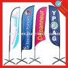 Напольные Teardrop пера/знамя флага ножа для рекламировать