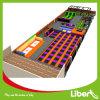 Grand trempoline d'intérieur commercial adapté aux besoins du client par fabrication