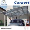 Car di alluminio Port con Polycarbonate Sheet (B-800)