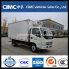 Foton 154HP 4X2 Refrigerator Truck Mini 밴 Freezer Truck