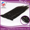 Надкожица Virgin бразильское Remy Hair Clip в человеческих волосах (PSTB-A391)