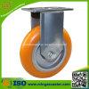 HochleistungsCaster mit Orange PU Wheels