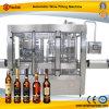 Enchimento automático do vinho branco
