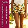 Sonnenblume-Sommer gedruckte beiläufige Hose-Frauen-Kurzschlüsse (L426)
