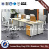Metal Legs (HX-MT5073)の4人Workstation Office Cubicle