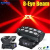 Diodo emissor de luz móvel Spider Beam Light de Head 8PCS*10W