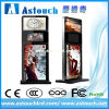 Стойка LCD пола 42 дюймов рекламируя Totem Signage цифров