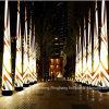 De hete Verkoop paste de Opblaasbare Kegel van de Reclamezuil met LEIDEN Licht voor Gebeurtenis aan