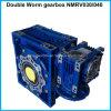 Doppia scatola ingranaggi di riduzione della scatola ingranaggi Nmrv030/Nmrv040 della vite senza fine