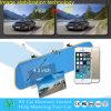 Carro azul antiofuscante DVR da opinião traseira do espelho