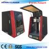 Automatische Faser-Laser-Markierungs-Ausschnitt-Maschine mit Gehäuse