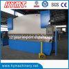 La presse de frein de la presse Wc67k-100X3200 hydraulique et de plaque en acier font cuire au four