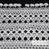 Cordón, cordón tejido ganchillo de la tela de algodón del cordón de los accesorios de la ropa, L262