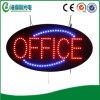 Ufficio del LED che fa pubblicità al segno