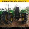 Cervi 484, trattore del John del trattore di agricoltura 4WD della Cina del John Deere 484 del macchinario agricolo