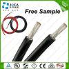 Les aperçus gratuits de prix usine ont étamé le câble solaire de cuivre du faisceau 6mm2