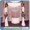 Rk schöner Rohr-und Vorhang-Standplatz-Hintergrund für Hochzeit