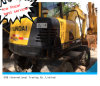 Escavatore usato Hyundai R60W-7 in escavatore di riserva della rotella