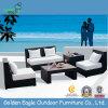 Personalizzare l'uso esterno della mobilia del rattan della mobilia di vimini del sofà