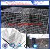 Panier de Gabion/treillis métallique soudé/forme perforation rectangulaire