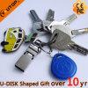 Schlüsselring-Haken OTG mobiler Doppel-USB Pendrive für Geschenk (YT-3291)