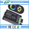 Controlador chave de DC12/24V 18A 5 RF RGB com tela de toque