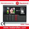 Comparecimento biométrico do tempo com sistema Realand a-C121 do comparecimento da impressão digital da senha do cartão de RFID