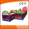 Obstáculo juegos al aire libre inflables hinchables de salto para los juguetes para niños (T8-501)