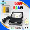심천 도매 4 지역 Romote 통제 WiFi RGBW LED 옥외 플러드 빛