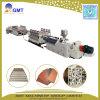 Plastik WPC gibt den Schaumgummi-Fußboden-dekorativen Vorstand frei, der Maschinen-Extruder herstellt