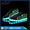 OEM het Nieuwe LEIDENE van het Ontwerp Licht van Schoenen op de Schoenen van de Sporten van het Comfort