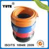 Yute W.P 500psi passen Größen-flexiblen umsponnenen Gummiluft-Schlauch an