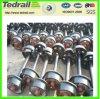 Conjuntos de rueda ferroviarios para diversos tipos de carros de la carga