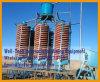 Installation de fabrication minérale de séparateur de descendeur spiralé