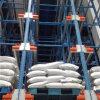 Sistema da cremalheira da canela para a indústria alimentar