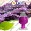 紫色のサツマイモの赤いカラー粉