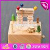 Modificar el rectángulo de música para requisitos particulares de madera del bebé de los regalos encantadores W07b043