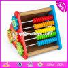 Brinquedos educacionais W12D068 do bebê de madeira inteligente Multi-Function novo do projeto