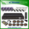 8CH H. 264 DVR Indoor 또는 Outdoor CCTV Camera System (BE-8108V4ID4RI42)