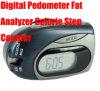 Contador de paso gordo de la caloría del analizador del podómetro de Digitaces (LTM-M338)