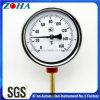 Termometro bimetallico della cassa dell'acciaio al cromo con Thermowell d'ottone