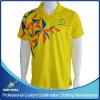 Camisetas por encargo del fútbol de la impresión de la sublimación para las personas del juego de fútbol
