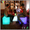 Battery &16 RGB Light Colors를 가진 LED Cube Chair