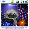 Luces mágicas cristalinas del disco de la bola LED del RGB