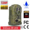 Cámara de 12MP 1080P barato de alta resolución en color camuflaje para la caza de animales Trail