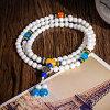 Form-Perlen-Schmucksache-Strickjacke-Ketten-Halsketten-Anhänger nationale Wind-Ketten-Halskettepopulärer weiblicher des Clavicle-DIY manueller