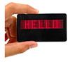 Emblema conhecido programável do diodo emissor de luz