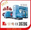 Hydraulische Preusure Maschinen-Lehm-Ziegelstein-Maschine für Verkauf